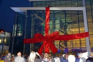 Event-Shows, Eröffnungsshow, Schleife, Vertical Dance