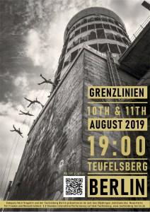 Performance Grenzlinien am 10./11.08.2019